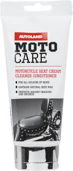motorcycle seat cream cleaner and
