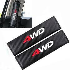4wd logo embroidered car seat belt