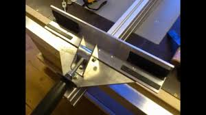 Homemade Table Saw Rip Fence Build Fence Planning Wooden Fence Diy Table Saw Fence