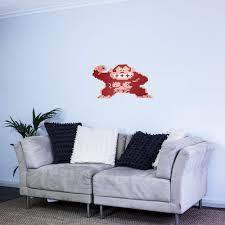 Amazon Com 8 Bit Donkey Kong Vinyl Wall Art Sticker Home Kitchen