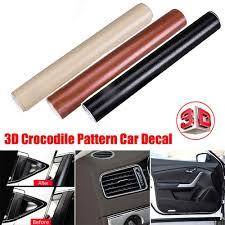 Adhesive Leather Pattern Car Decal 152 30cm Black Texture Vinyl Car Wrap Sticker Decal Film Interior Car Styling Car Stickers Aliexpress