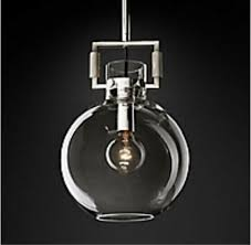 restoration hardware 10 glass globe