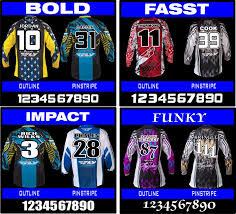 hotshotmx thick motocross graphics