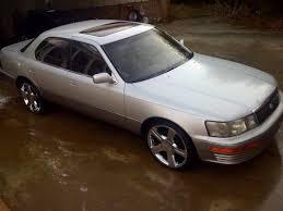 1990 lexus ls400 on some 20s w skinnys