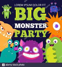 Birthday Monster Fotos E Imagenes De Stock Alamy