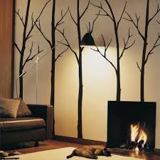 Wall Decals Living Room Tree Wall Decals Sticker Set Large Etsy