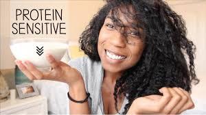 protein sensitive natural hair