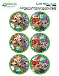 Free Zootopia Party Pack And Holiday Downloads Zootopia