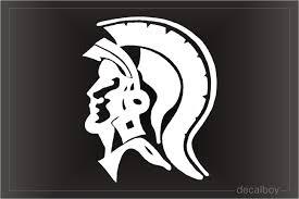 Spartans Trojans Decals Stickers Decalboy