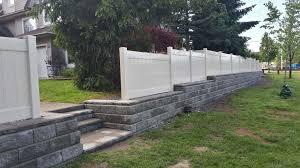 Retaining Wall Installations Premium Fence Company