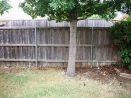 Fixing A Leaning Fence Post Metal Fence Post Do It Yourself Knowledge