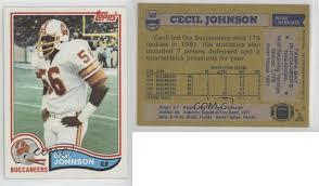 1982 Topps Cecil Johnson #503 Rookie | eBay