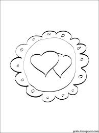 Bruiloftsharten Kleurplaten Gratis Kleurplaten