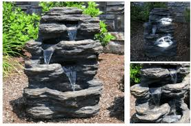 water features solar powered fountains