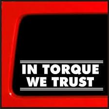 In Torque We Trust Sticker Decal For Cummins Duramax Smoke Cat Vinyl Sticker Decal Buy 2 Get 1 Extra Free Wish