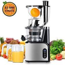 Aobosi chậm Masticating Máy ép trái cây Juice Extractor Máy ép trái cây Máy  200W