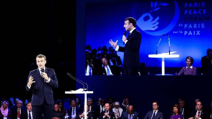 """Resultado de imagem para O Forum de Paris sobre a paz"""""""