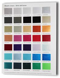 car paint colors chart gallery of