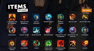items and item buffs in Dota Underlords ...