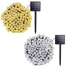 Bộ dây đèn LED trang trí chạy bằng năng lượng mặt trời chống nước 10/20m