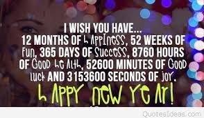 happy new year picture inspiring quote