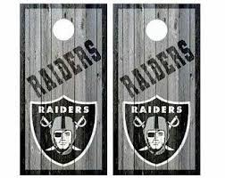 Raiders Cornhole Etsy