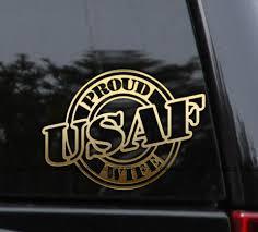 Proud Family Usaf Air Force Veteran Decal Navy Veteran Marine Veteran Army Veteran
