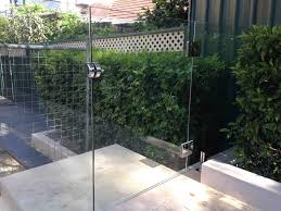 Frameless Pool Fencing With Magnetic Latch And Hinges Home Fix Limited