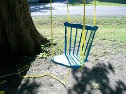 diy chair tree swing the owner