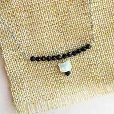 spinel jewelry bar necklace cat