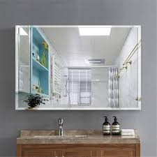beveled glass wall mounted hanging