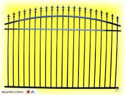 Aluminum Fence 1 7m High 10m Wide Fenarc2 Trade Me