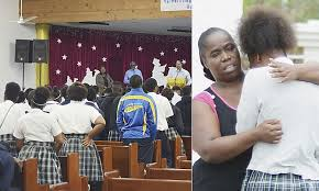 Children in tears as they mourn dead schoolboy | The Tribune