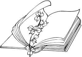 Bloemen Boekenlegger Kleurplaat Gratis Kleurplaten Printen