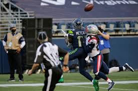 Seahawks receiver D.K. Metcalf never stopped getting into it with Stephon  Gilmore - The Boston Globe
