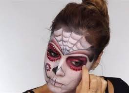 easy day of the dead makeup ideas