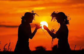 21 июня летнее сонцестояние - праздник Купала