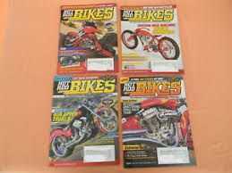 hot rod bikes magazines 2005 4 issues