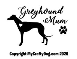 Greyhound Mum Car Decal Vinyl Sticker Dog Love Gift Window Greys High Quality Ebay