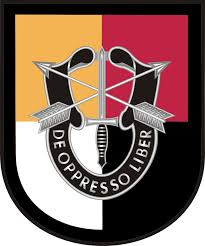 3rd Special Forces Group Flash Decal