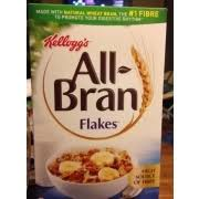 kellogg s all bran flakes cereal