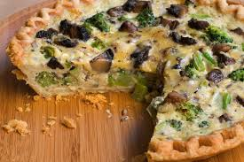 Broccoli, Mushroom, and Gouda Quiche ...