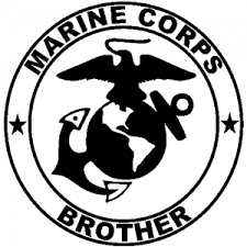 Marine Corps Brother Seal Car Or Truck Window Decal Sticker Or Wall Art Decalsrock