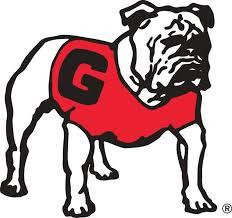 Georgia Bulldogs 4 Uga Standing Bulldog Decal Sticker Universities Forever