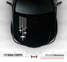 Rogue Squadron 7 X Wing Star Wars Hood Side Stripes Car Vinyl Sticker Decal Ebay