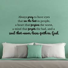 Soul That Never Loses Faith In God Wall Quotes Decal Wallquotes Com