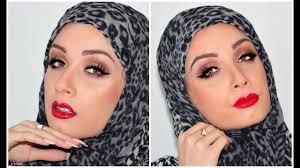 eid hijab makeup tutorial arabic