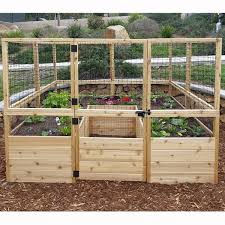 raised garden bed with legs wayfair