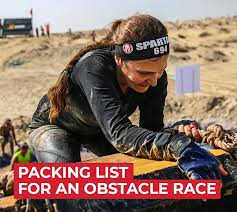 gear you should bring to an obstacle race