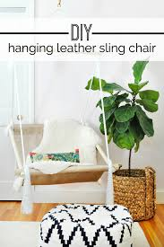15 diy hanging chairs that will add a